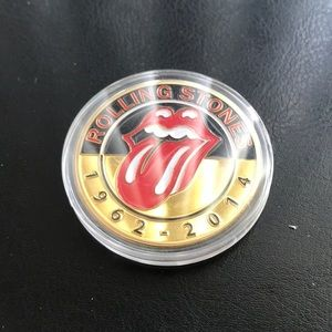 Other - Rolling Stones Memorable 1962-2014 coin medal